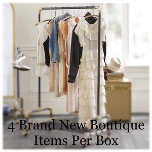 Beauty and Her Bears Jackets & Coats - 4 Piece Boutique Mystery Box!